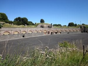 Present day Fort Burgoyne