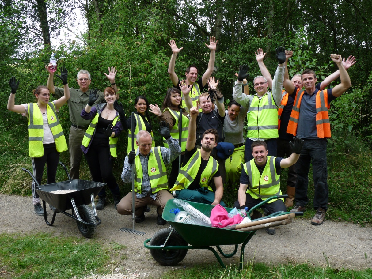 International company helps to restore local nature reserve