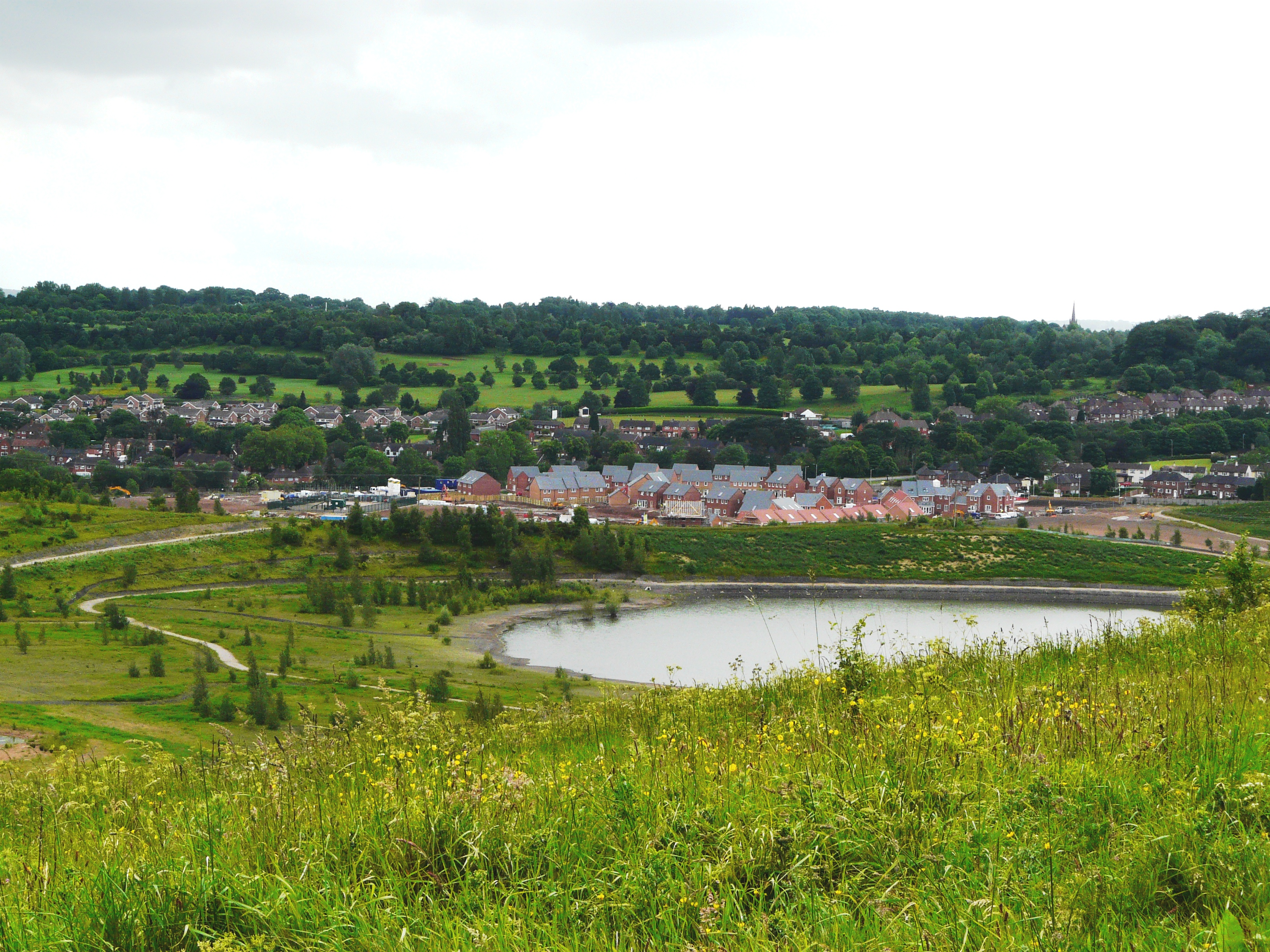 Houses by Silverdale Country Park