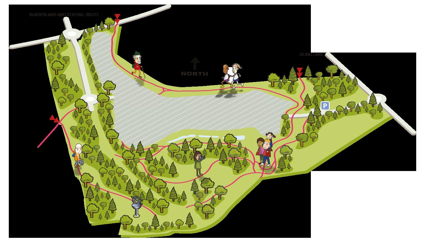 Map of Elba Park