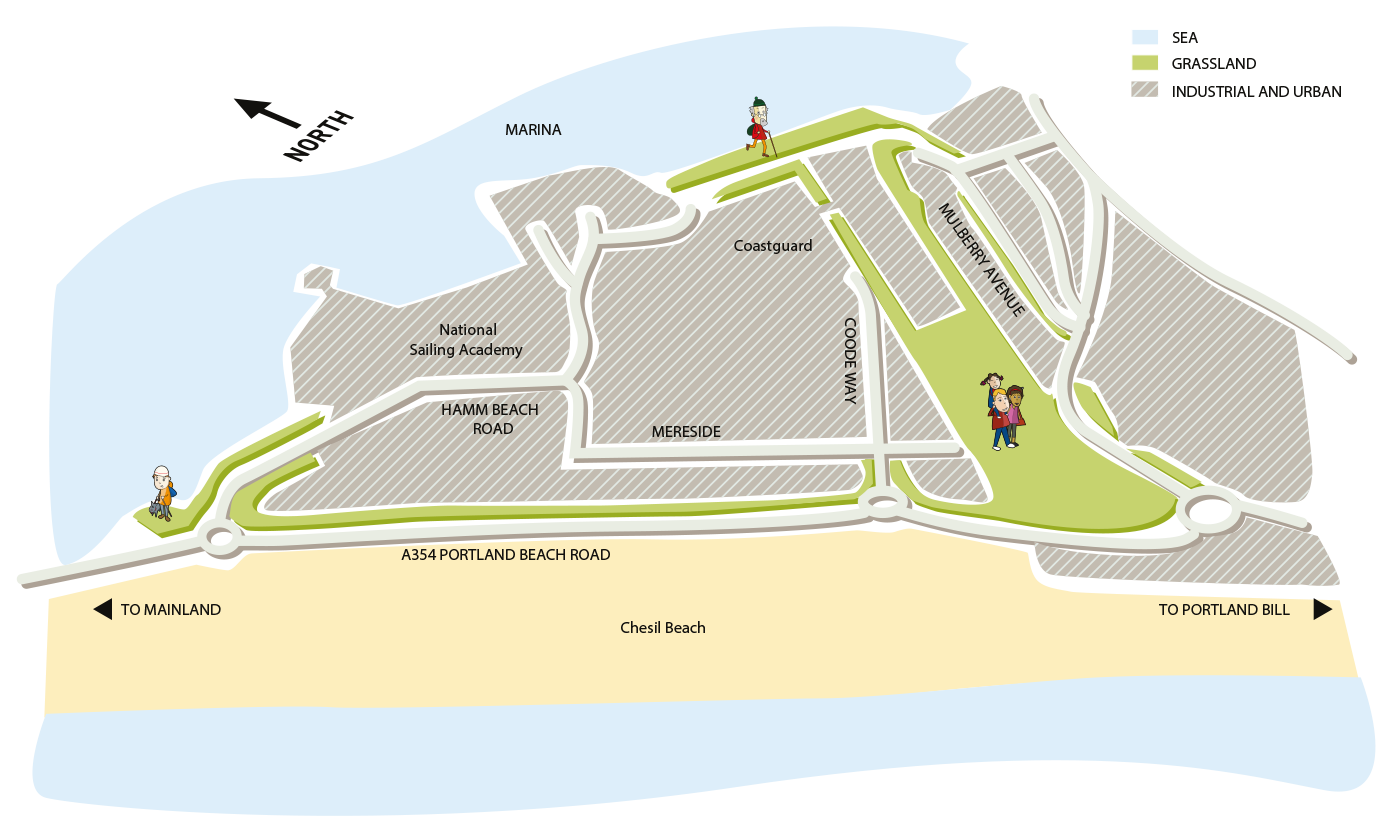 Map of Osprey Quay