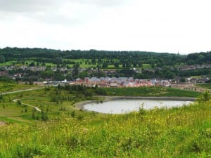 Silverdale Country Park - with housing