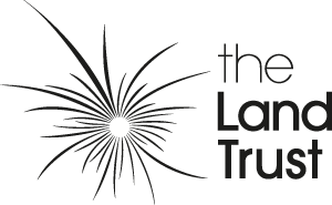 The Land Trust logo - Black