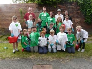 Green Angels volunteers