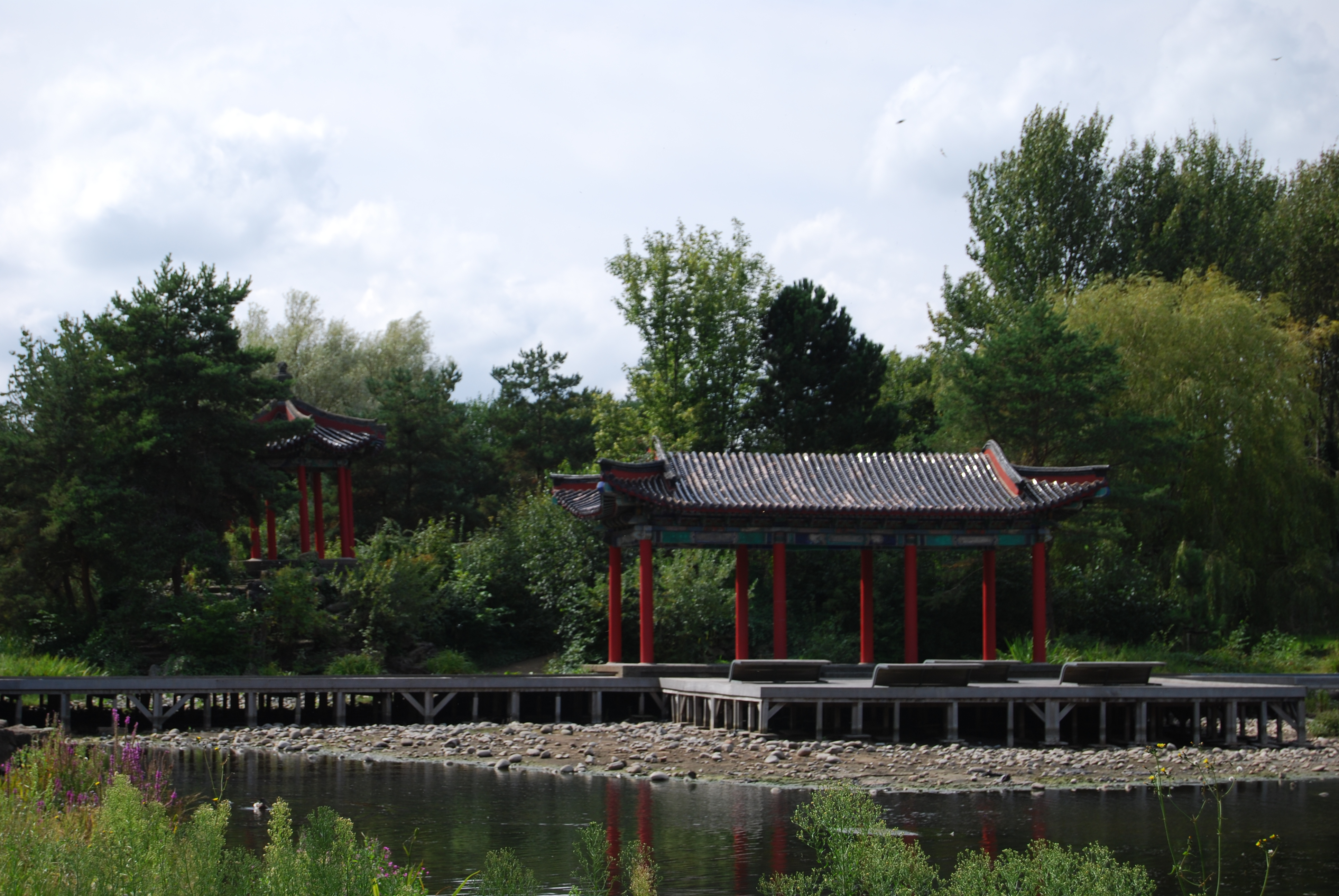 Pagoda at Liverpool Festival Gardens