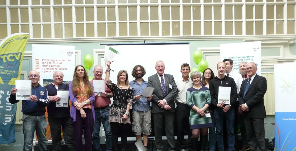 Green-fingered trainees honoured at Toxteth Town Hall
