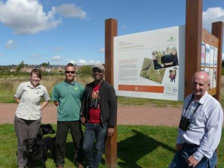 The Urban Birder Swoops into the Land Trusts green spaces