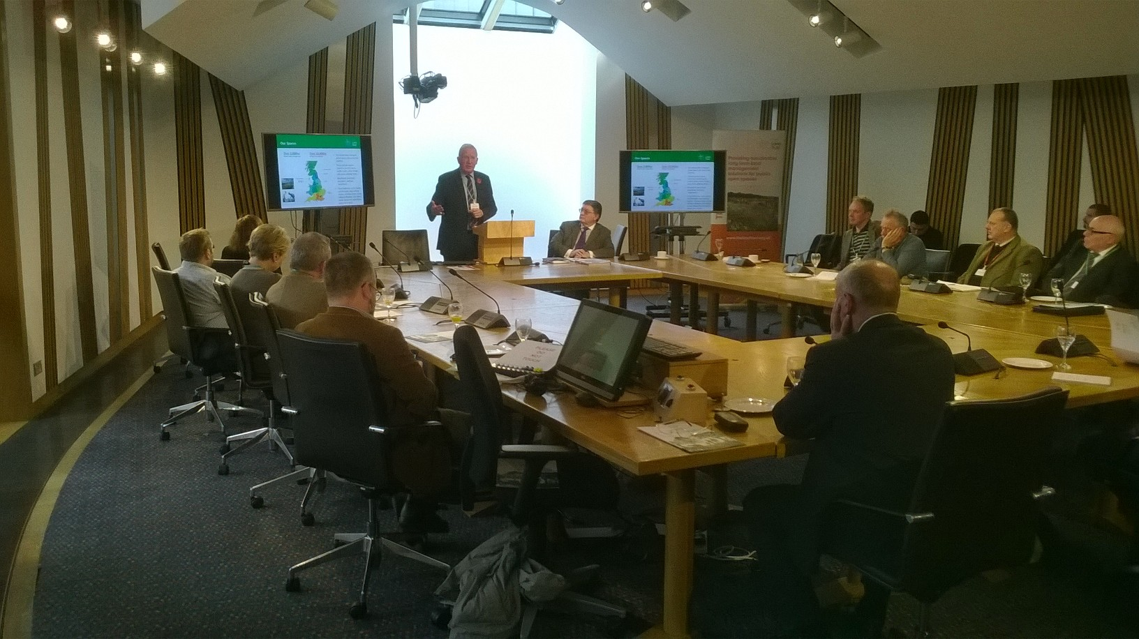 The Land Trust Hosts Event at Scottish Parliament