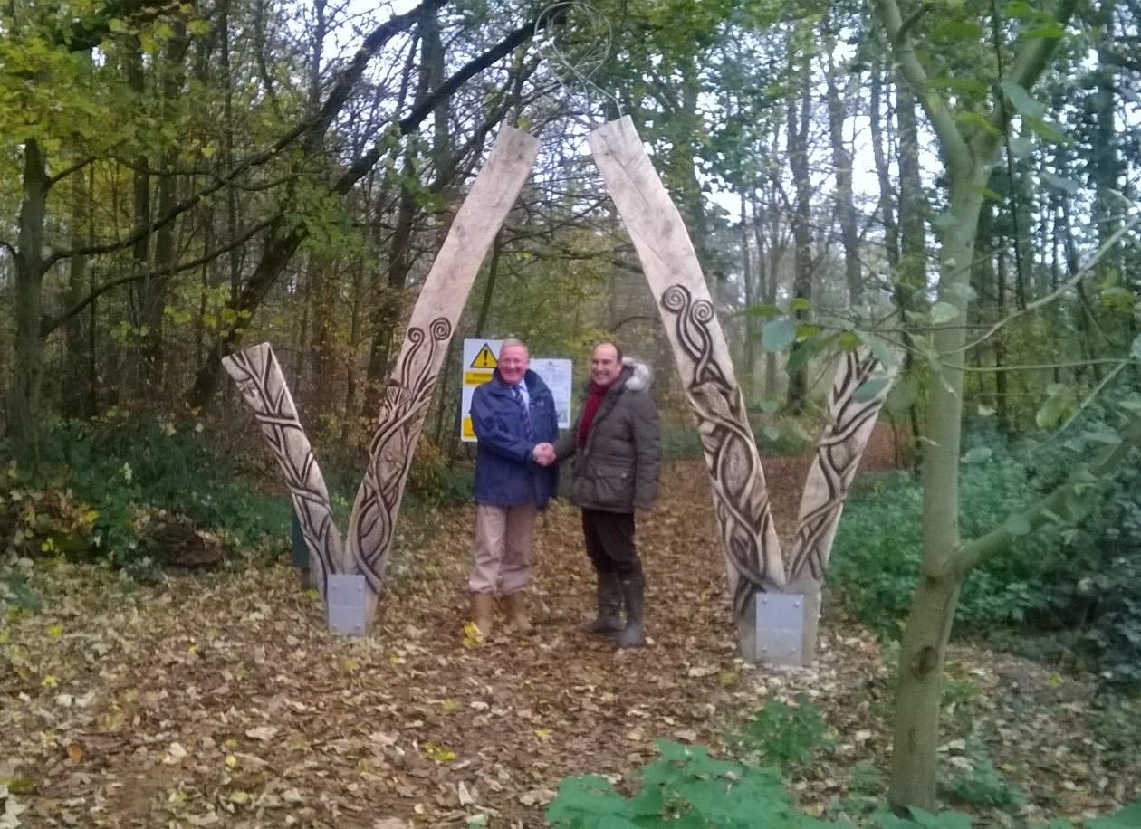 A natural transformation for Aldershot woodlands