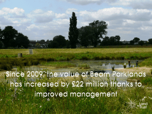 The value of Beam Parklands has increased by £22m since 2009