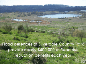 Silverdale Country Park provides flood defences worth £400k
