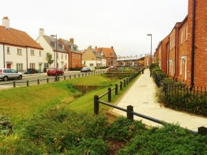 Green space at Upton