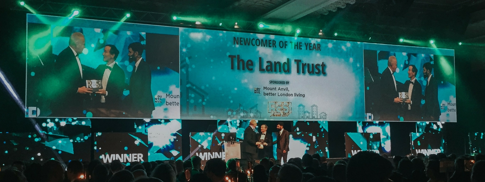 Land Trust Residential Service wins Newcomer of the Year at the RESI Awards