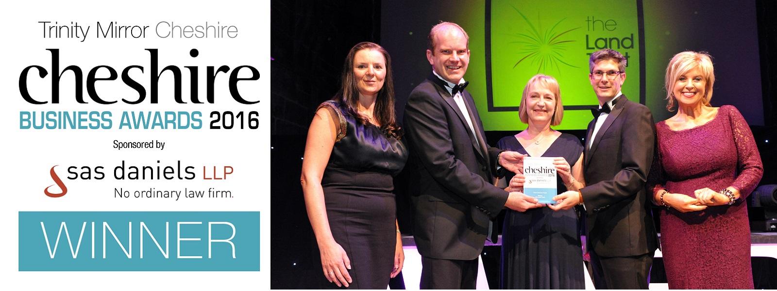 The Land Trust Green Business Award 2016