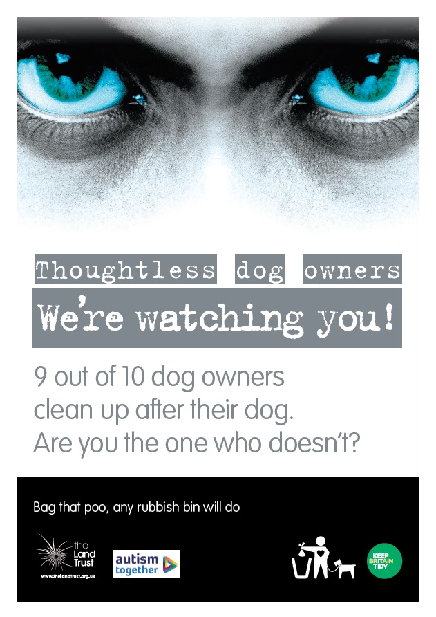 We Are Watching You Dog Fouling