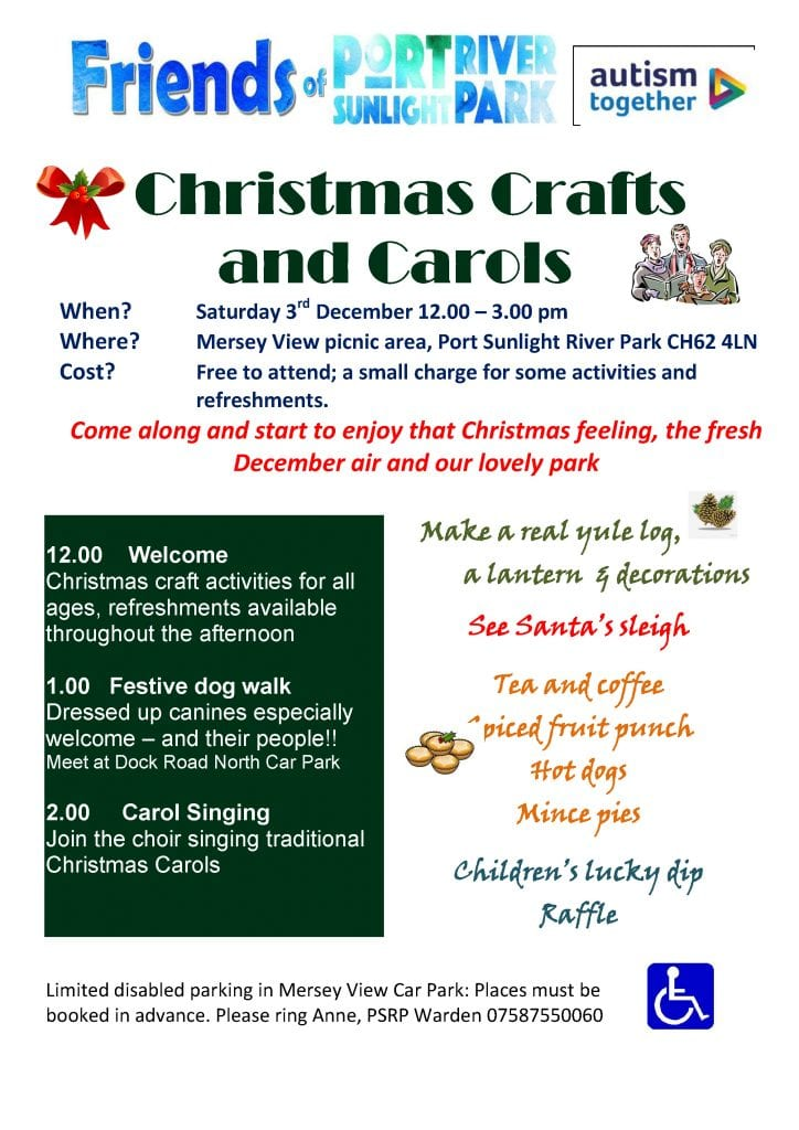 Port Sunlight Christmas Crafts & Carols 2016