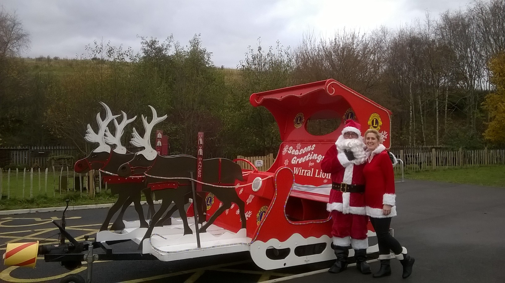 Santa at Port Sunlight River Park