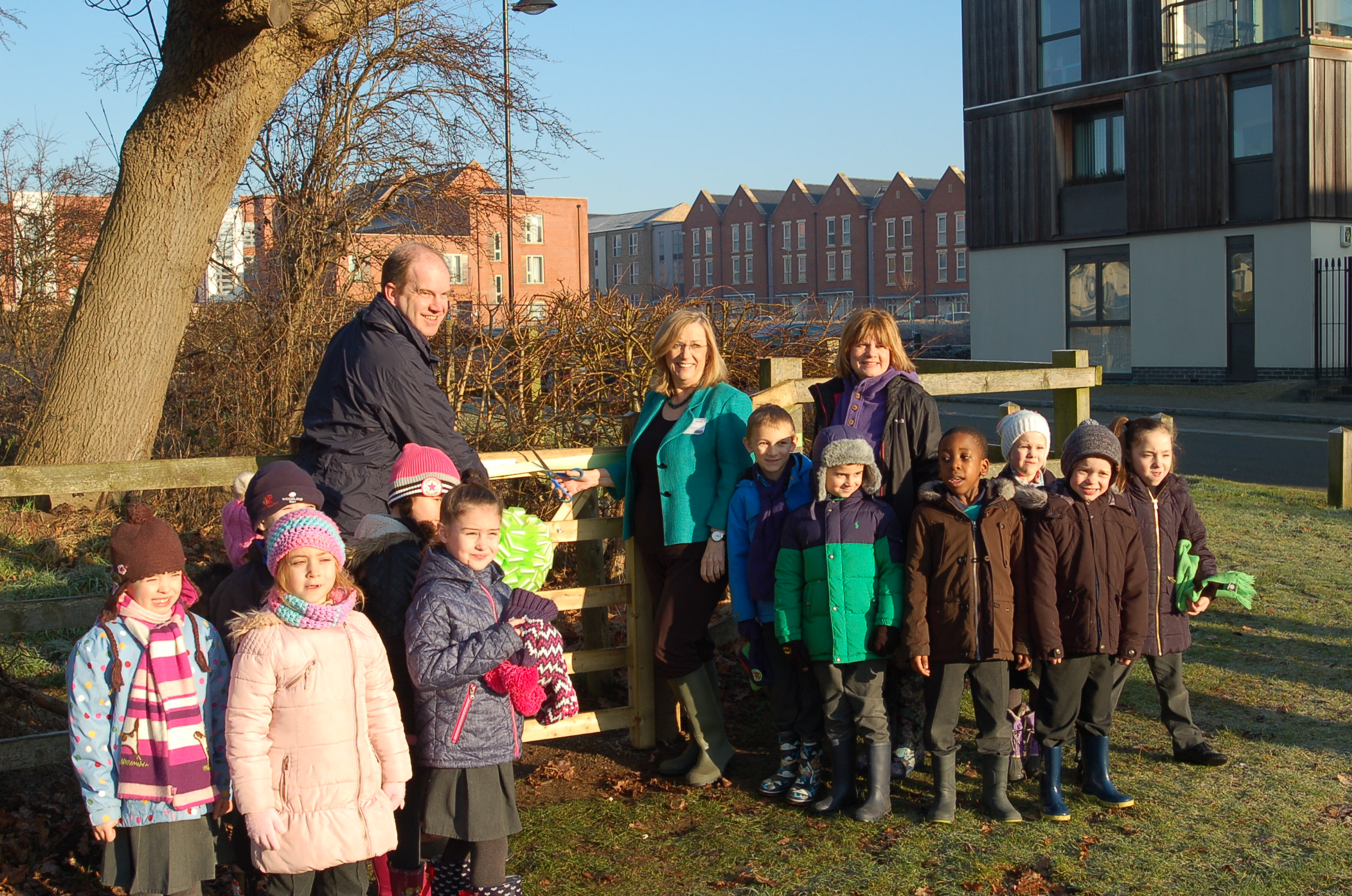 Forest School opening at Upton