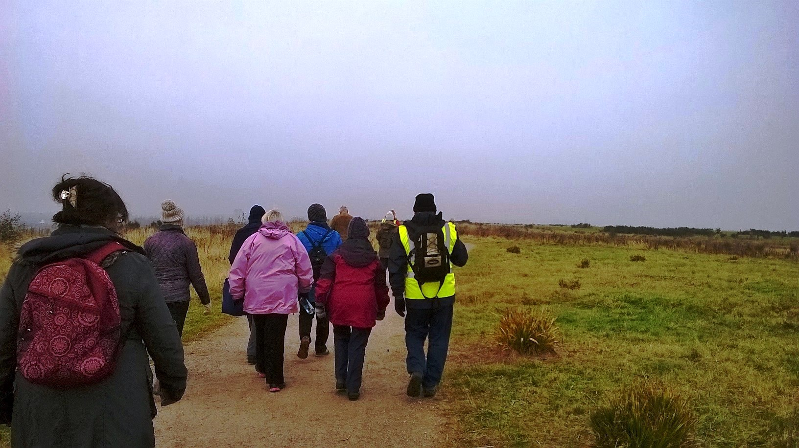 Walkers at Port Sunlight River Park