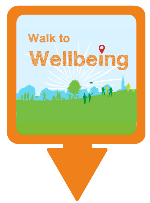 Walk to Wellbeing logo