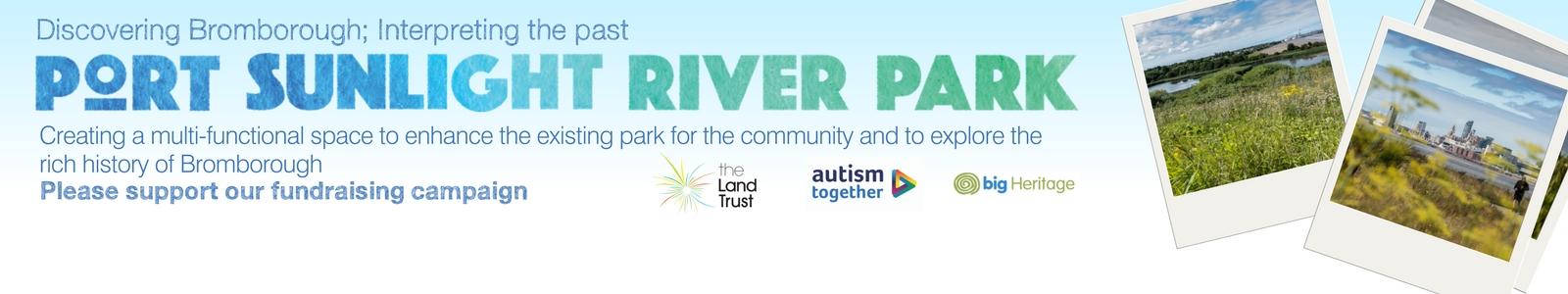 PSRP JustGiving banner