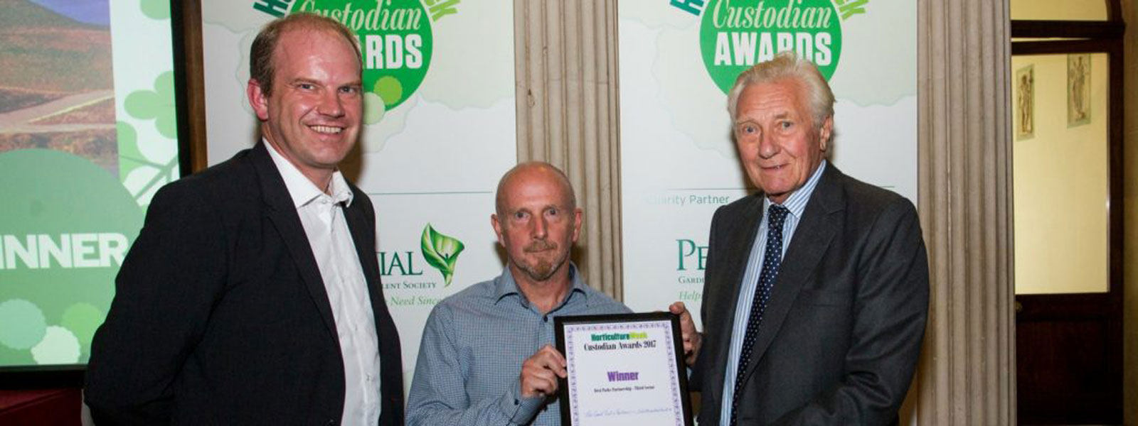 The Land Trust celebrates two wins at Horticulture Week Custodian Awards