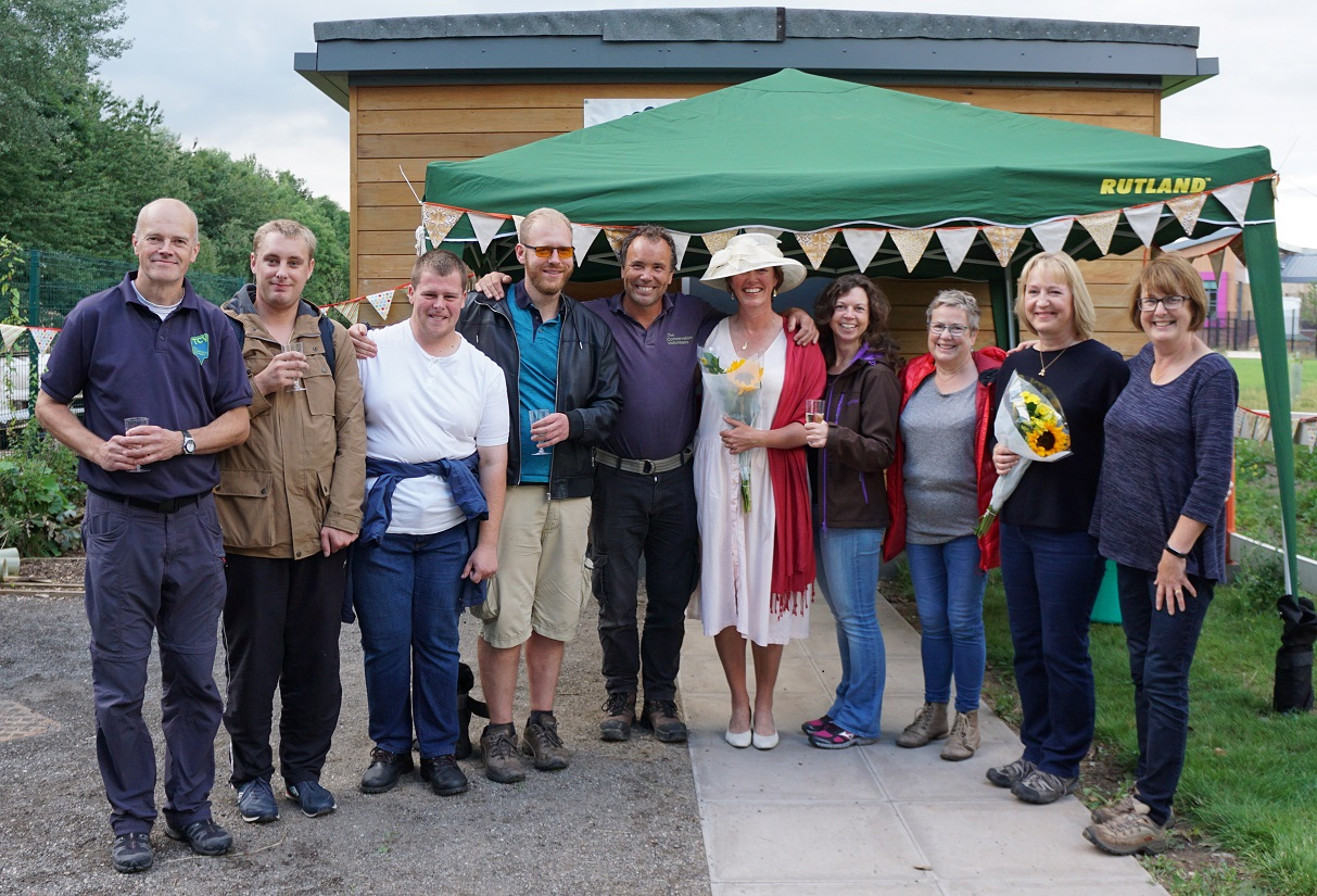 Countess of Chester Country Park ranger hut opening (c) Andy Scargill