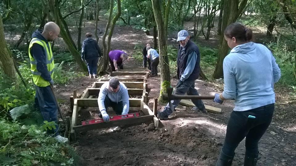 Warrington Green Angels hard landscaping course