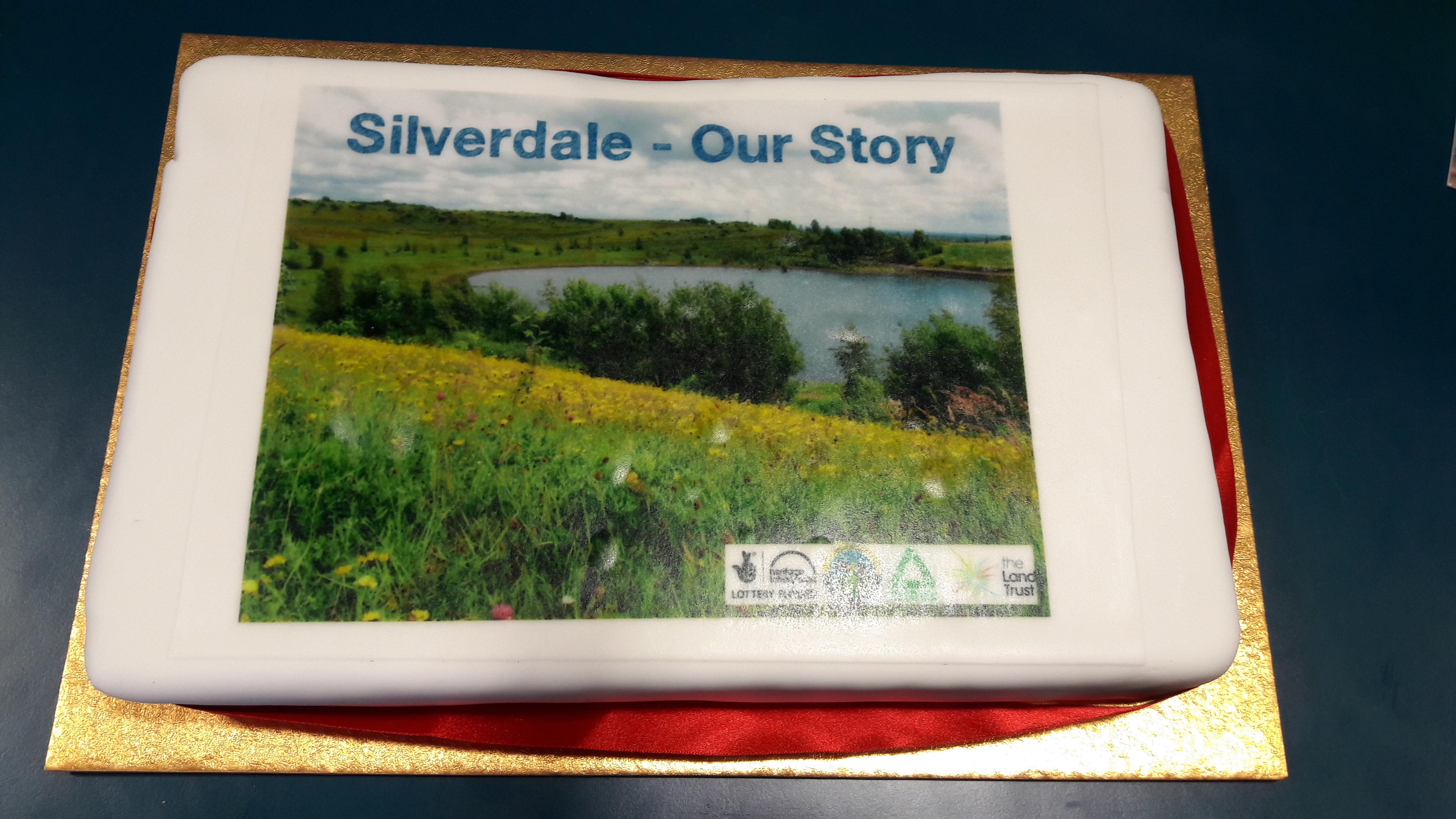 Silverdale Our Story celebration cake