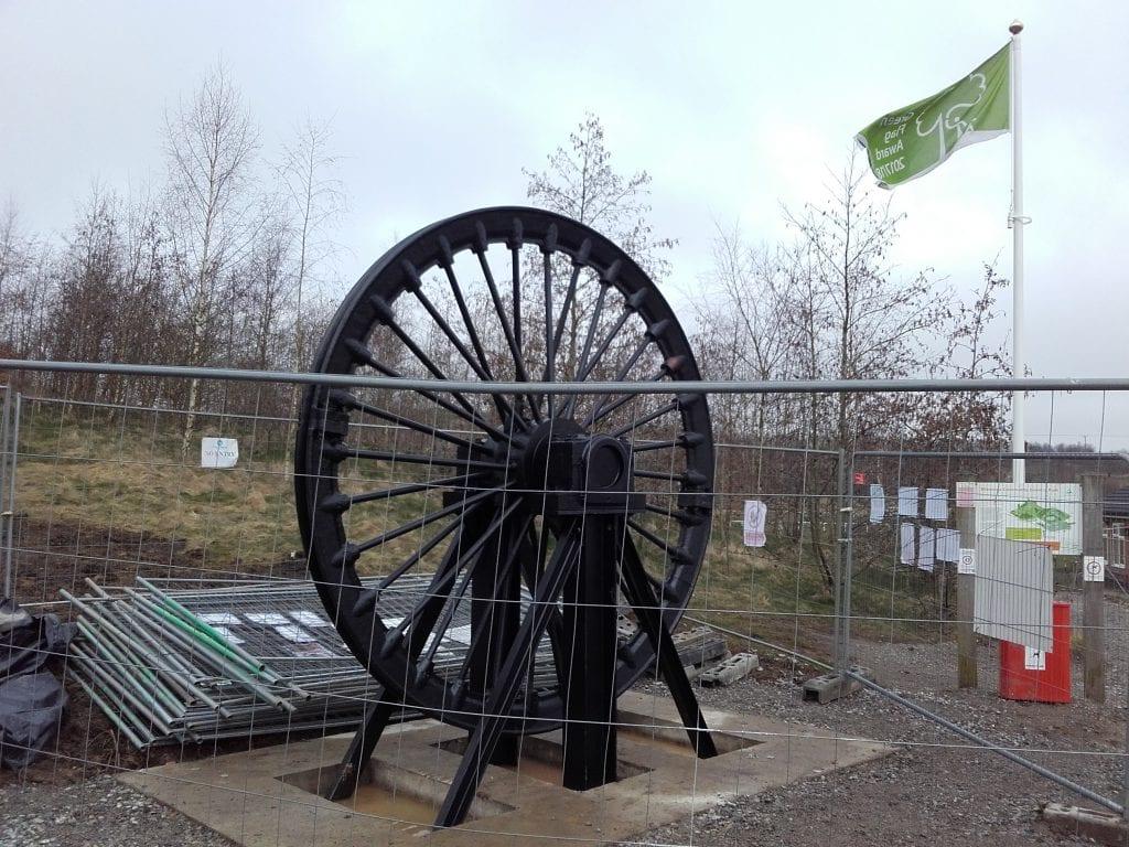 Silverdale Pit Wheel