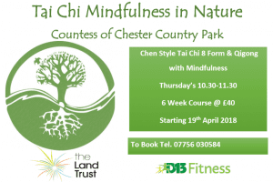 Tai Chi and mindfulness course