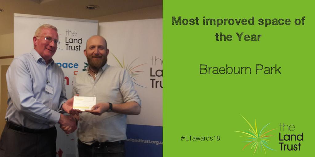 Braeburn Park wins Most Improved Site