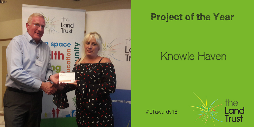 Project of the Year winner Knowle Haven