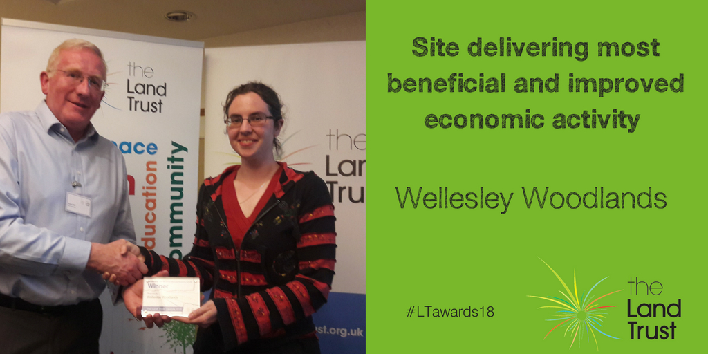 Wellesley Woodlands wins at Land Trust awards