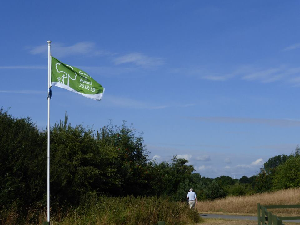 Elba Green Flag