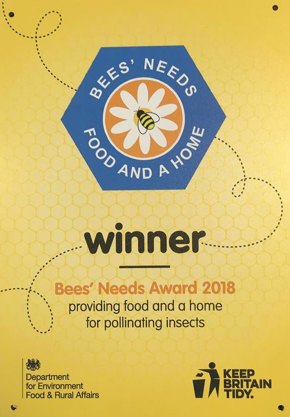 Countess of Chester Country Park wins Bees' Needs Award.