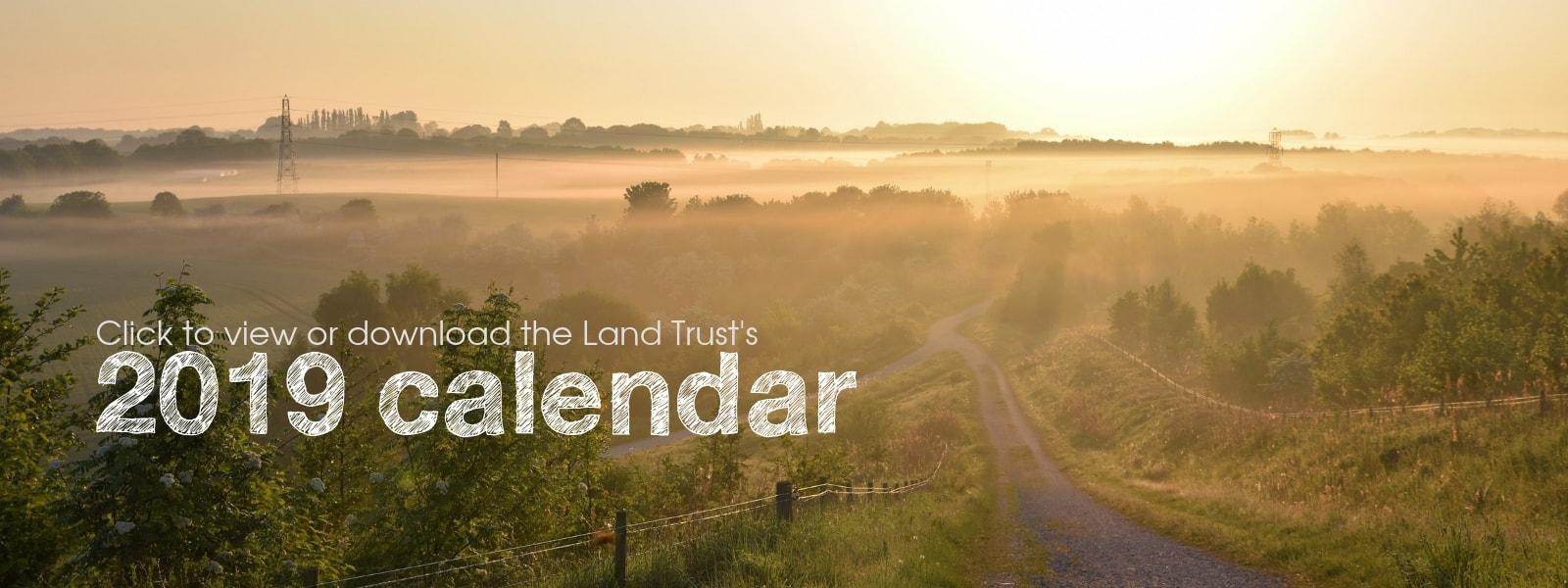 Land Trust calendar