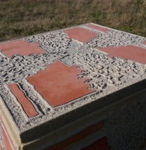 Pyramidal Orchid Waymarker Pillar