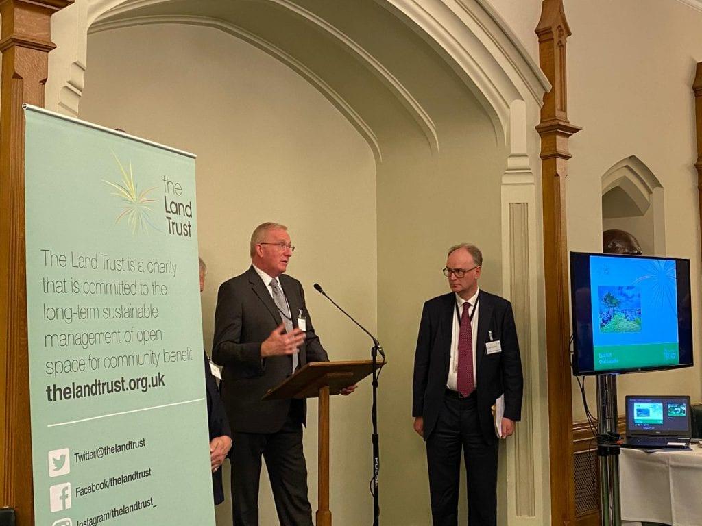Euan Hall speech at Land Trust 15th birthday celebration