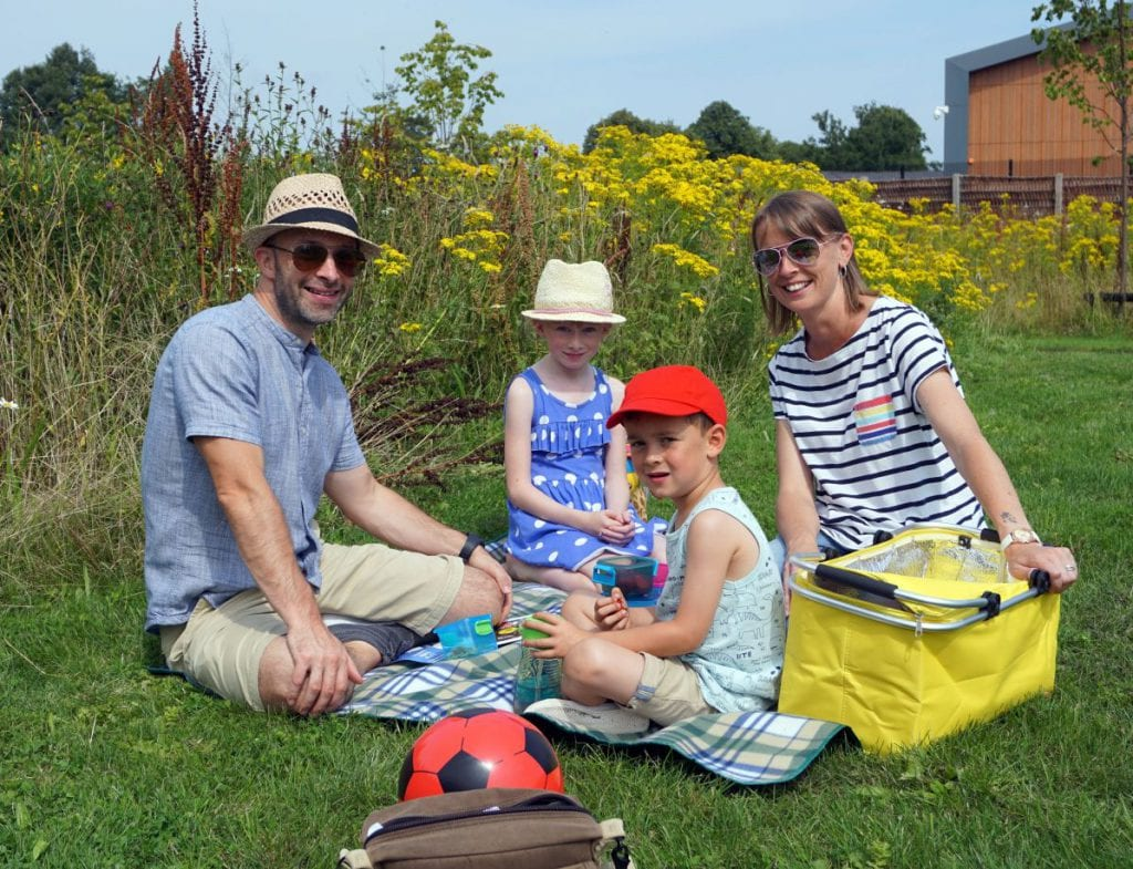Communities enjoy our green spaces