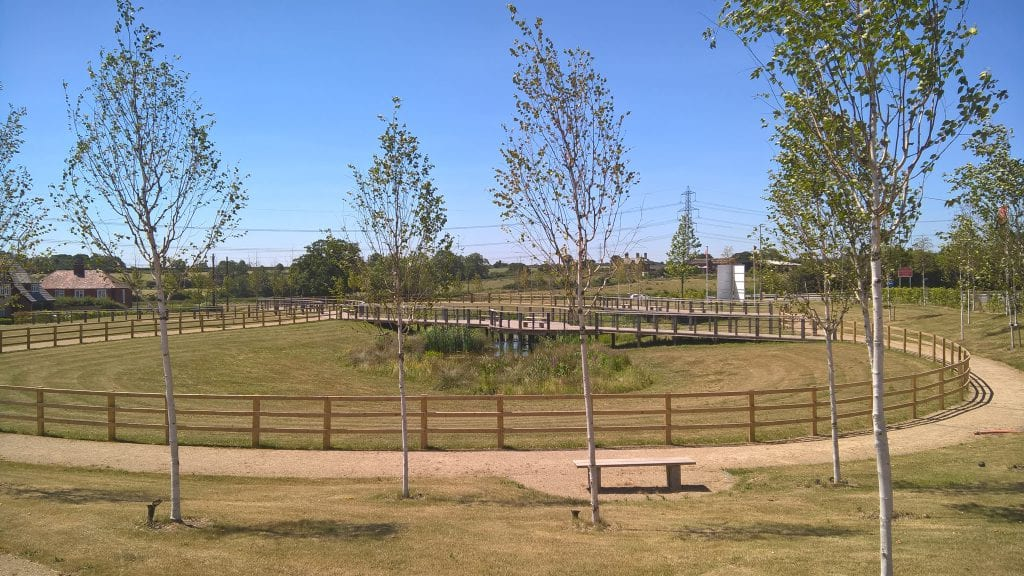 New Lubbesthorpe and Merlin Park