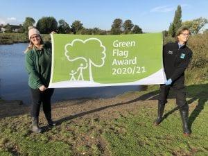 Beam Parklands Green Flag 2020