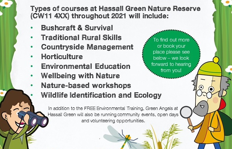 Courses at Hassall Green in 2021